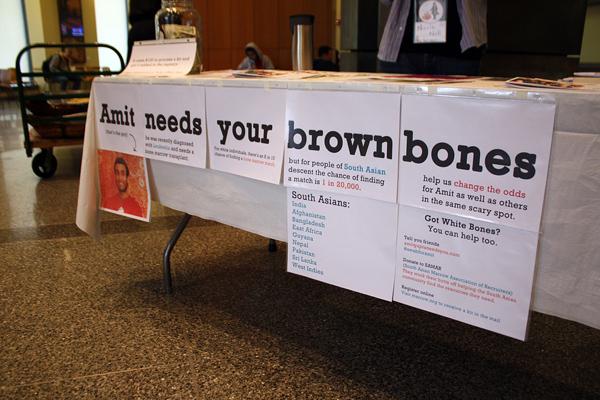 Amit Needs Your Brown Bones